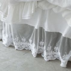 shabby chic bedskirt 1000 ideas about lace bedding on vintage bedding white lace bedding and beds