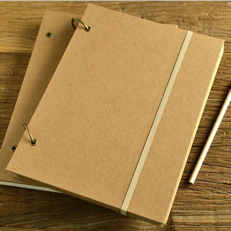 Spiral Kawat A4 No 7 Type 7 16 95 Lembar 11 0 Mm blank sketchbook diary drawing graffiti painting a4 spiral square kraft notebook paper