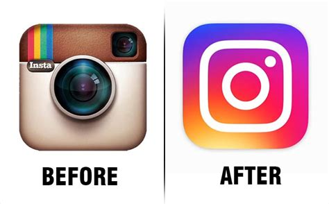 instagram the new ui icon and all the elements you want instagram s overhauled logo and ui get a thumbs down on