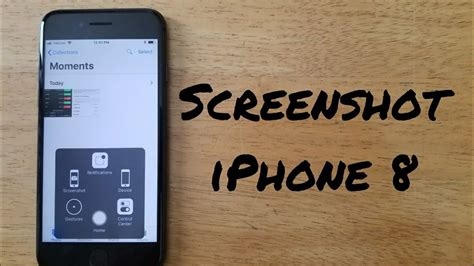 how to screenshot iphone 8 8 plus iphone x 7 7 plus