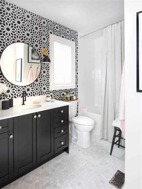 Black And White Bathrooms Ideas Peenmedia Com Bathroom Black And White Ideas