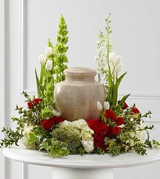 Cremation Vase The Ftd 174 Tears Of Comfort Arrangement