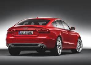 audi a5 sportback history of model photo gallery and