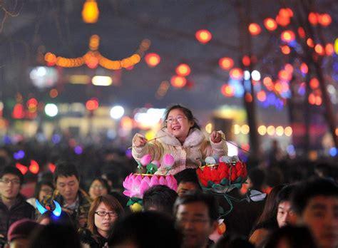 15th day of new year lantern festival celebrate lantern festival china org cn