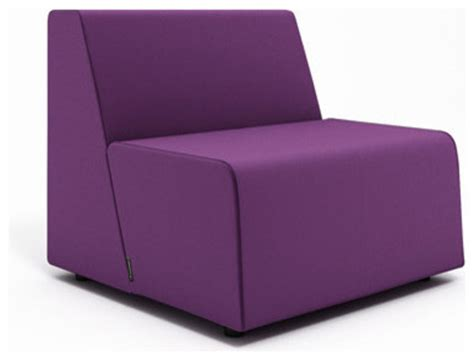 Purple Chair And A Half Cfire Half Lounge Purple Modern Outdoor Chaise