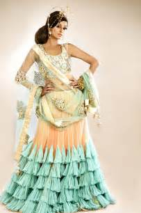 Designer lehenga choli for the wedding day