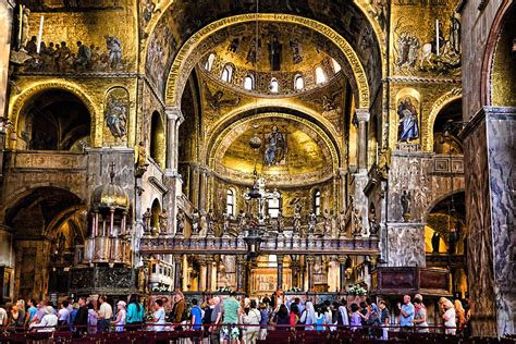 Home Interior Apps by Interior St Marks Basilica Venice Photograph By Jon Berghoff