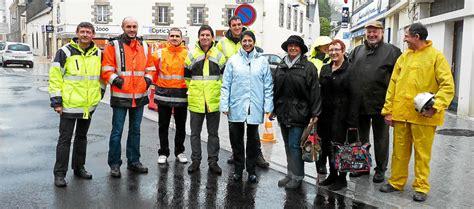 Cabinet Univers by Le T 233 L 233 Gramme Rosporden Travaux Visite De Chantier