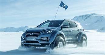 Hyundai South Road Hyundai Santa Fe Survives Trip Across The Antarctic Image