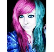 Emo Girl With Pink Hair Car Tuning