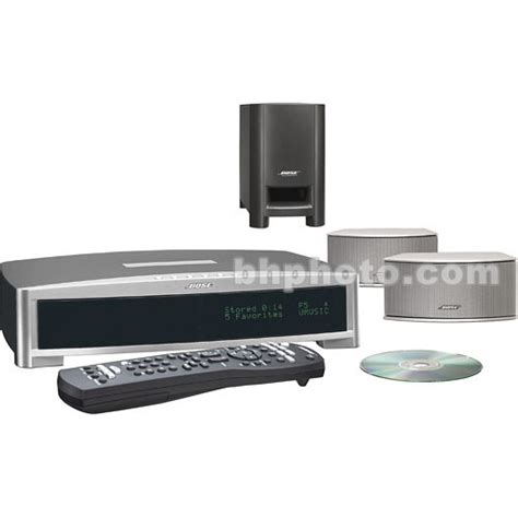 bose 3 2 1 gsx home theater system silver 36600 b h photo