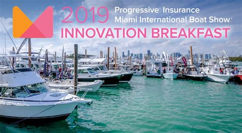 miami boat show industry breakfast miami boat show innovation breakfast set for february 15
