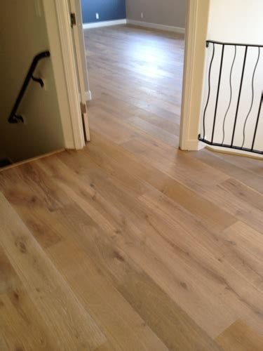 Pre Engineered Wood Flooring Wood 15 15 Kahrs Wire Brushed Pre Finished Engineered Wood Flooring Installed As A Floating