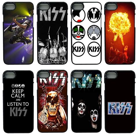 kiss heavy rock band logo cell phone cases pc hard plastic case phone cover  iphone