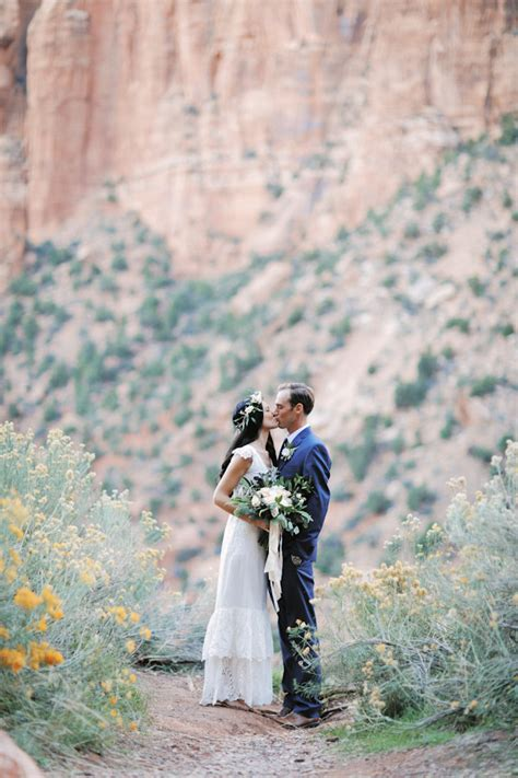Zion National Park Pre Wedding {Kaitlyn Sean}   Utah