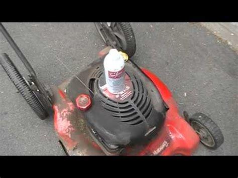 gas fireplace fan keeps running how to keep lawn mower snow blower carburetor running