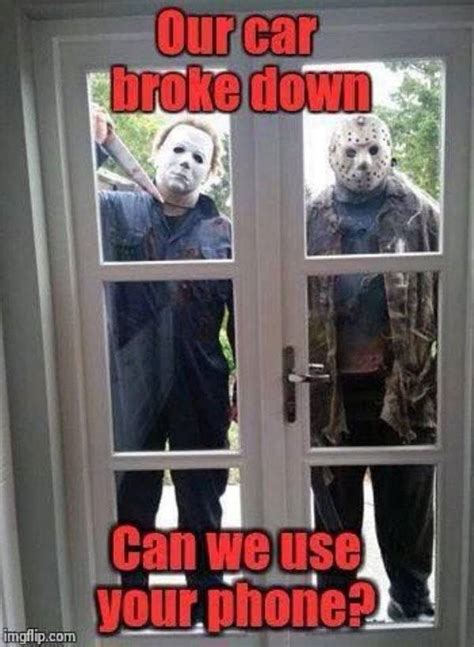 horror movies gave  thses chilling memes barnorama