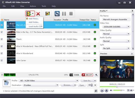 tutorial any video converter xilisoft hd video converter tutorial how to convert hd