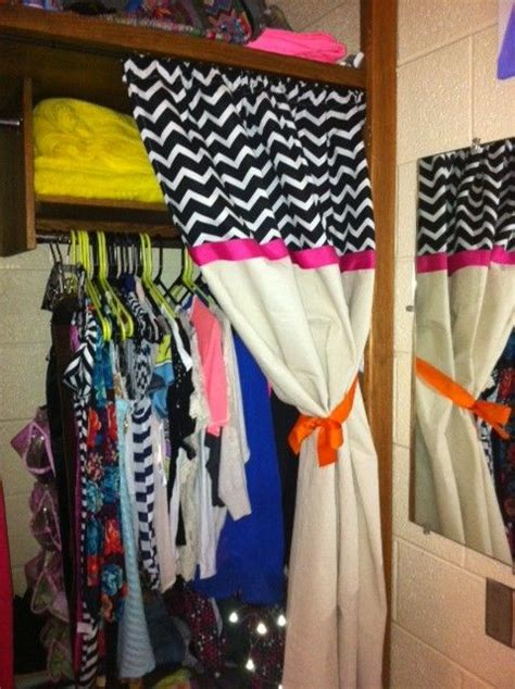 college curtains curtain for dorm closet dorm room ideas pinterest