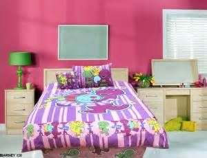 Barney Bed Set Flora Barney 130 Bedding Set With Free Pillow Sleepwear Set Price Review And Buy In Uae