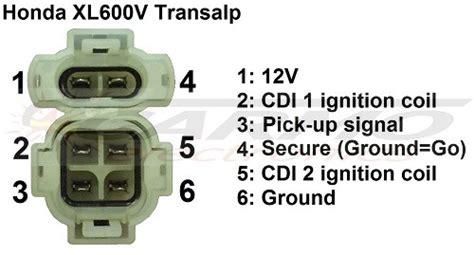 improved honda xl600v transalp ms8 cdi 2x carmo xl600v