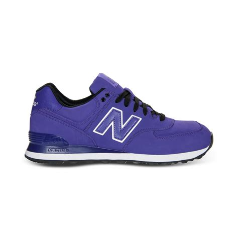 purple new balance sneakers new balance 574 sneakers in purple for lyst