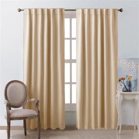 room darkening curtains beige blackout room darkening curtains ease bedding with style