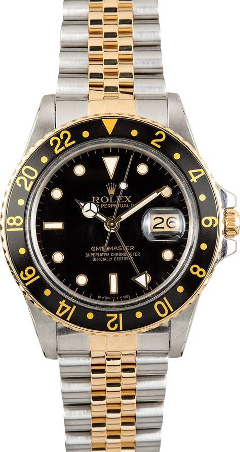 rolex gmt master 16753 jubilee bracelet