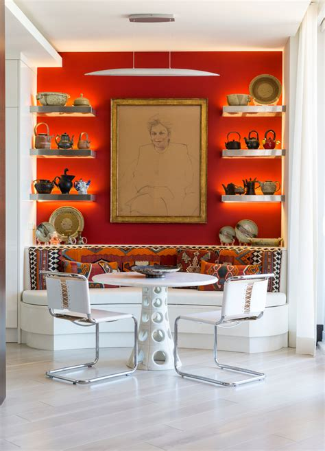 life  lived eclectic dining room miami