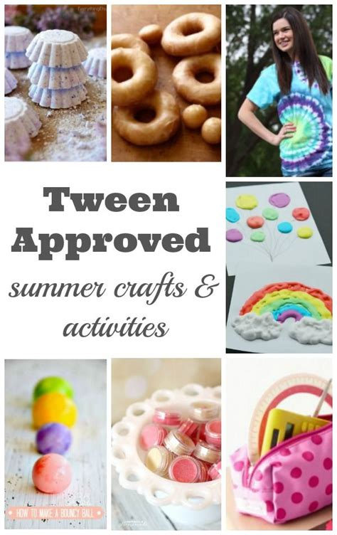 craft projects for tweens summer crafts and activities for tweens crafts