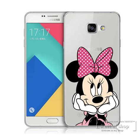Mickey And Minnie Mouse X2242 Samsung Galaxy A5 2017 Print 3d Cas animal mickey mouse protective cover for samsung galaxy a3 a5 a7 j1 j5 j7 2016