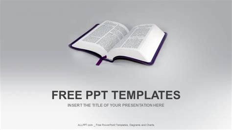 open bible religion ppt templates