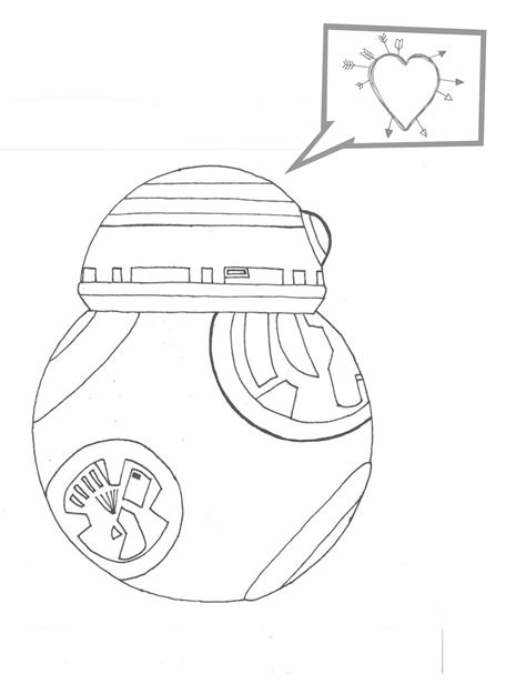 star wars valentines coloring page 8 more star wars inspired valentines coloring pages