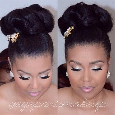 Wedding Hairstyles For South Black Brides by 2016 Wedding Hairstyles For Black 9 Black Hair