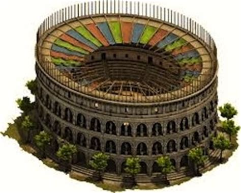 ancient sort of roof construction ancient rome colosseum