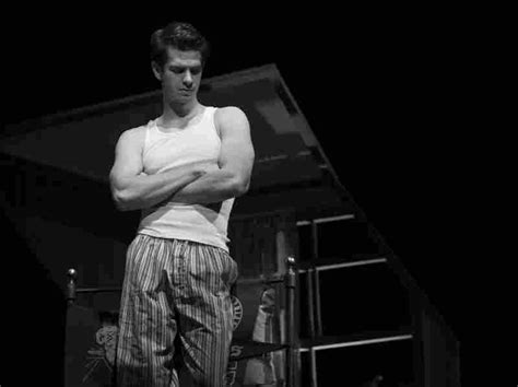 death of a salesman biff themes movie interview andrew garfield talks the amazing