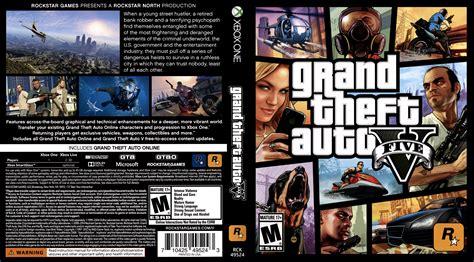 Xbox One Gta V Originall grand theft auto v xbox one box cover by deadpool