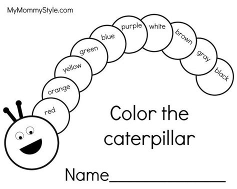caterpillar coloring pages preschool very hungry caterpillar writing pages bug activities