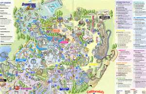 amusement parks california map great america map my