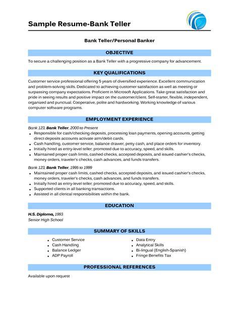 cv format for bank job sample banking resumes sample resume sample