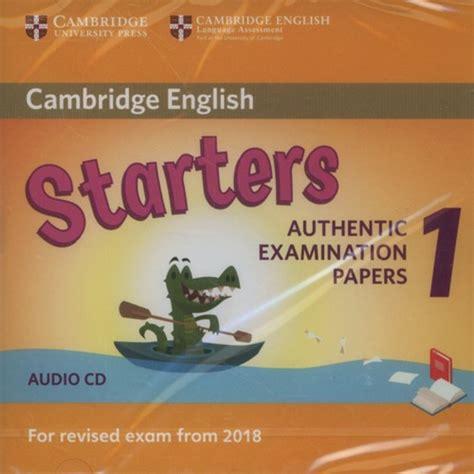 cambridge english starters 1 cambridge english starters 1 audio cd mestro pl sklep internetowy