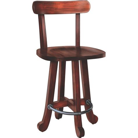 cape may bar chair amish crafted furniture