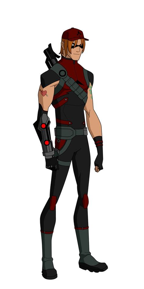 arsenal young justice arsenal outlaws design by bobkitty23 on deviantart