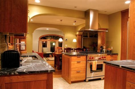 modern kitchens in traditional homes traditional craftsman modern kitchen home design and decor reviews