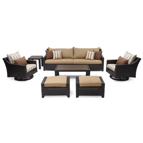 Rst Brands Deco 8 Patio Rst Brands Deco 8 All Weather Wicker Patio Deluxe