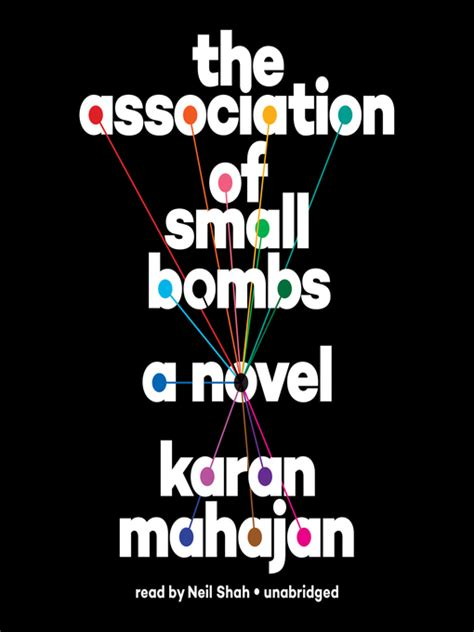 the association of small bombs downloadable audiobook edmonton public library bibliocommons