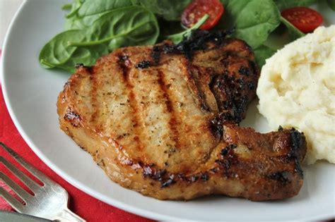 pork chops grilled pork chops marinade recipe