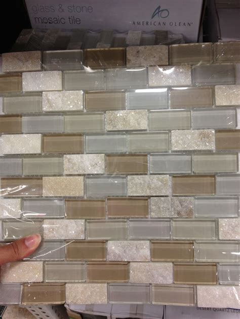 kitchen backsplash tile at lowes with some sparkle
