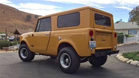 international scout  suv bronco  jeep