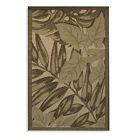 Bed Bath And Beyond Outdoor Rugs Palm Frond Indoor Outdoor Rug Bed Bath Beyond